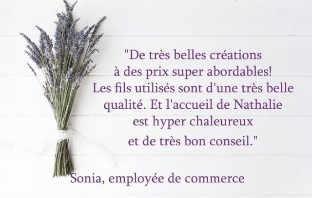 Recommandation-Sonia