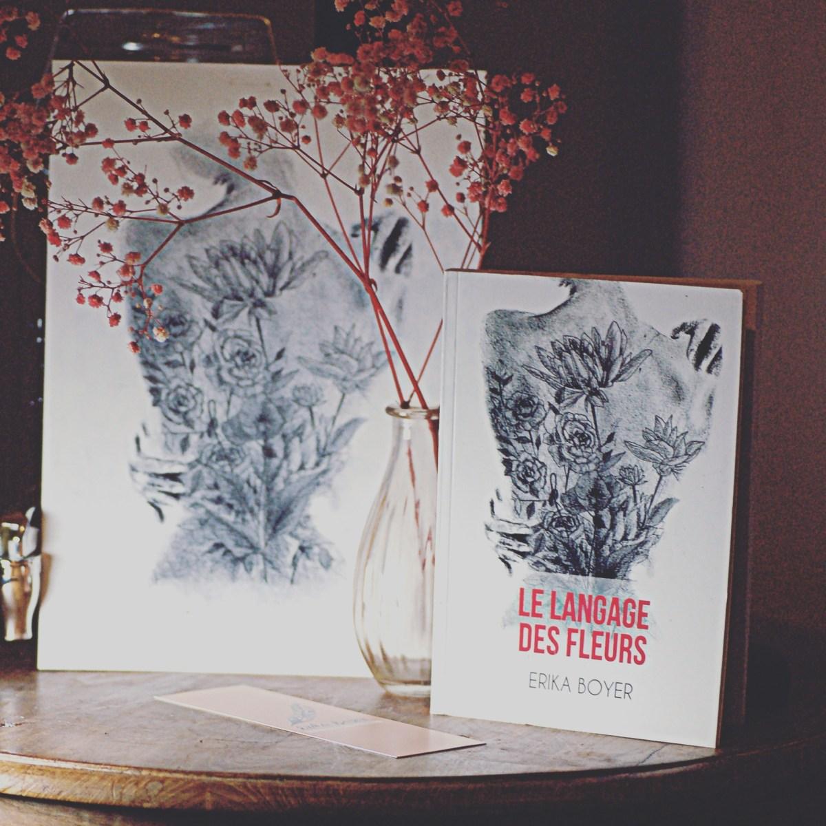 graphiste illustrateur, illustrateur métier, illustrateur bordeaux, illustrateur indépendant, graphiste illustrateur, encre de chine, Le langage des fleurs, croquis au crayon, L'Atelier Vagabond, couverture roman, couverture livre, Erika Boyer, L'Atelier Vagabond.