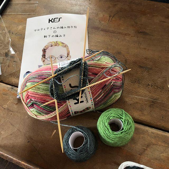 アトリエ・nest 、tetetoitoの時間、梅村マルティナ、オパール毛糸、編み物教室
