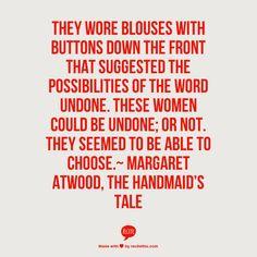 women undone quote