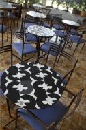 Mesas diseñadas por Waleska Belisario
