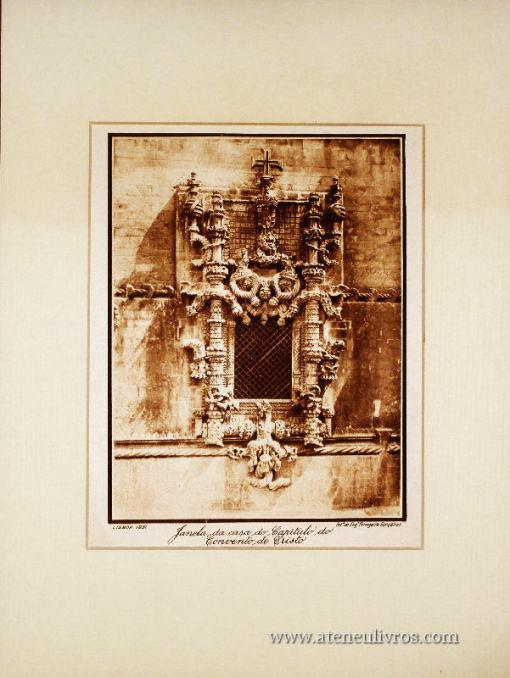 Janela da Casa do Capitulo do Convento de Cristo «€15.00»