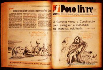 12 -Volumes - Jornal - Povo Livre - Partido Social Democrata «€100.00» Cada Volume