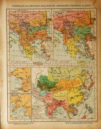 Formação dos Balcânicos - Expansão Colonial na Ásia «€5.00»
