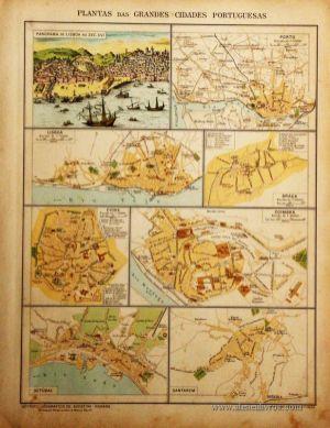 Planta das Grandes Cidades Portuguêsas «€5.00»