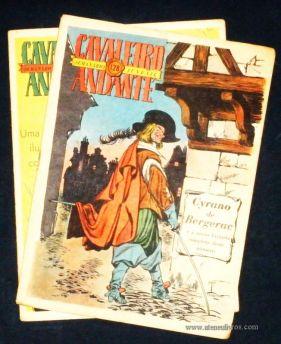 Cavaleiro Andante nº 123, 128 - Cada - «€5.00»
