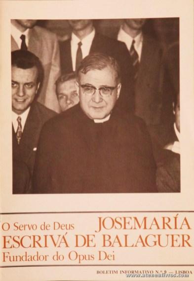 Boletim n.º 9 - Fundação do Opus Dei - 1990 - «€5.00»