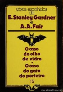 E. Stanley Gardner e A. A. Fair - O Caso do Olho de Vidro * O Caso do Gato do Porteiro «€5.00»