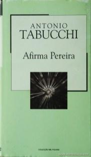 António Tabucchi - Afirma Pereira «€5.00»