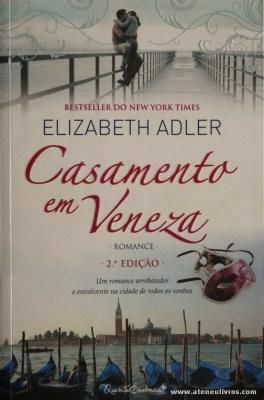 Elizabeth Adler - Casamento em Veneza «€8.00»