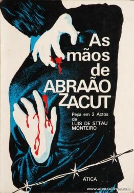 Luís de Sttau Monteiro - as Mãos de Abraão Zacut (Peça em 2 Actos) «€5.00»