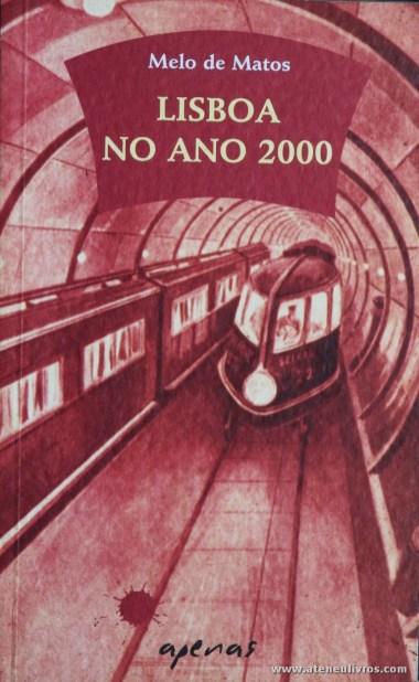 Melo de Matos - Lisboa no Ano 2000 «€5.00»