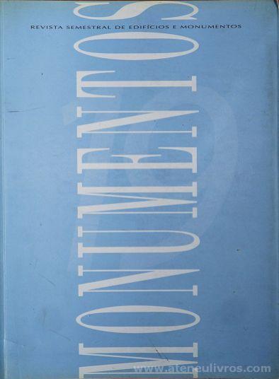 (19) - Monumentos - Revista de Edifícios e Monumentos - Sé do Funchal - Direcção Geral dos Edifícios e Monumentos - Ministério das Obras Publicas, Transportes e Comunicação - Lisboa - Setembro de 2003. Desc.[165] pág / 32 cm x 24 cm / Br. «€10.00»