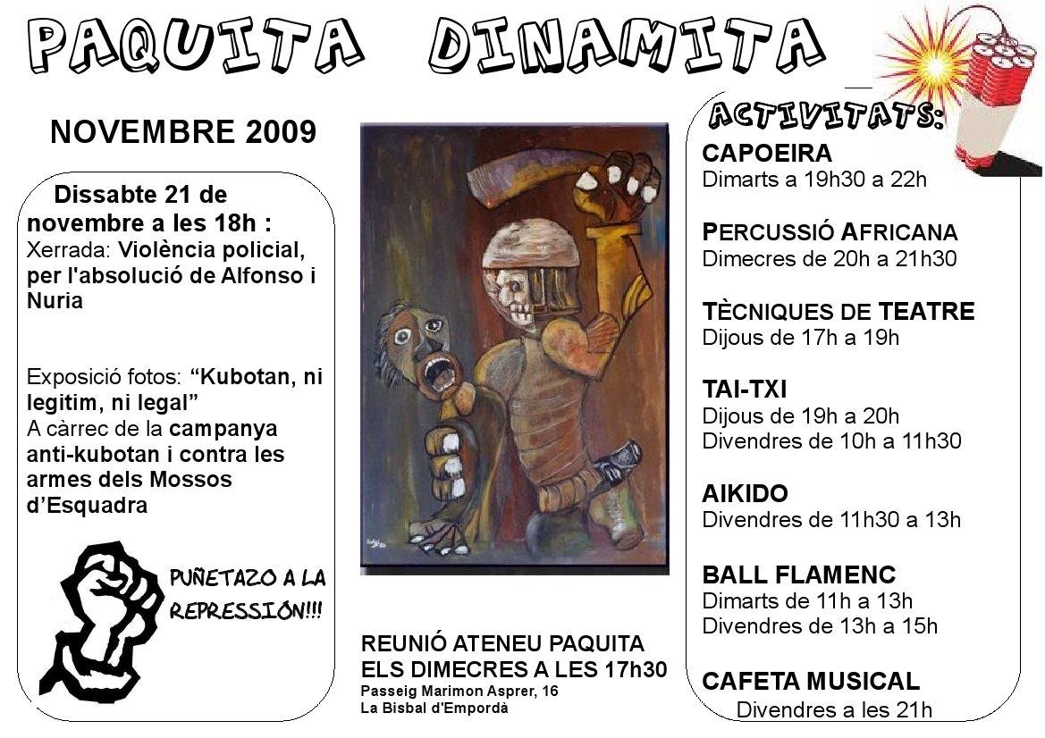 DINAMITA novembre2009