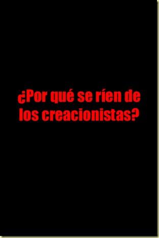 Por que se rien de los creacionistas