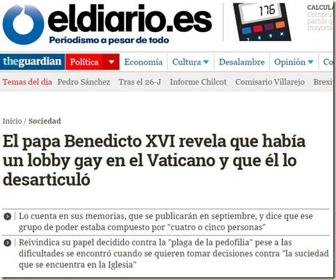 Ratzinger - El diario