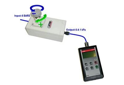 Micropressure Calibration Accessory - ATEQ leak testing