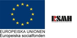 ikon europeiska socialfonden och riksförbundet för social och mental hälsa