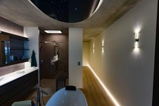 EFH Biel Badezimmer LED Beleuchtung