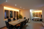 EFH Bremgarten Wohnzimmer LED Beleuchtung