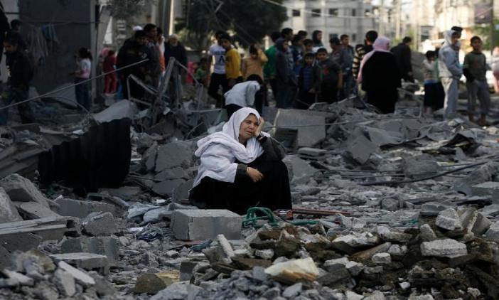 Γάζα, Παλαιστίνη. Μάνα...
