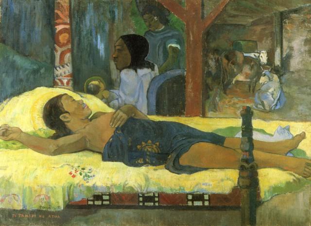 Paul Gauguin, Η γέννηση του Χριστού (1896)