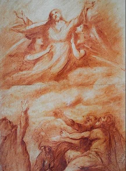 Νικόλαος Κουνελάκης, Η Ανάληψη (1868)
