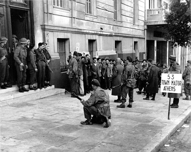 Έλληνες αιχμάλωτοι των Βρετανών στρατιωτών