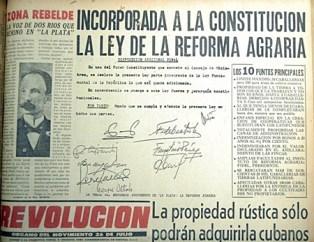 REVOLUCION FRONT PAGE 1959
