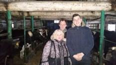 Agroverslo technologijų studijų programos studentai lankėsi Artūro ir Andriaus Arlauskų galvijininkystės ūkiuose