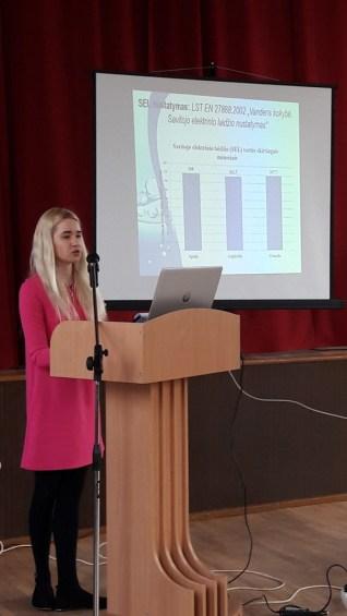 """Agrotechnologijų fakultete įvyko mokslinė praktinė konferencija """"Šiuolaikinės technologijos darniai aplinkai"""""""