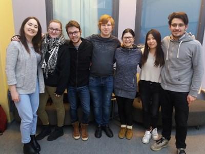 Nanotechnologijų kurso Erasmus+ programos studentai (Large)