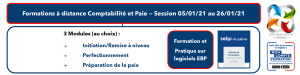 AT FORMATION - COMPTABILITE PAIE MON COMPTE FORMATION CPF SESSION JANVIER 2021 A DISTANCE