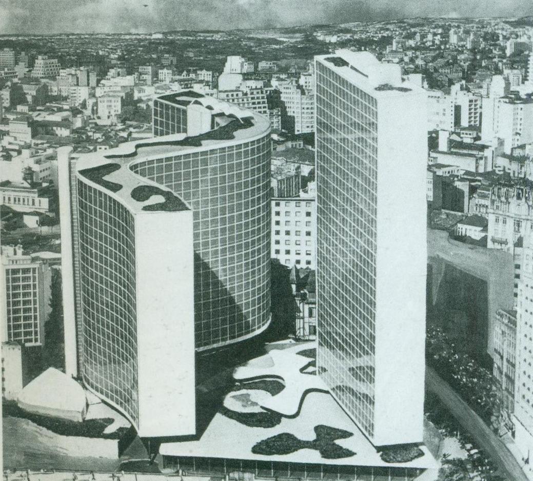 Edificio Copan  Oscar Niemeyer So Paulo Brasil 1966