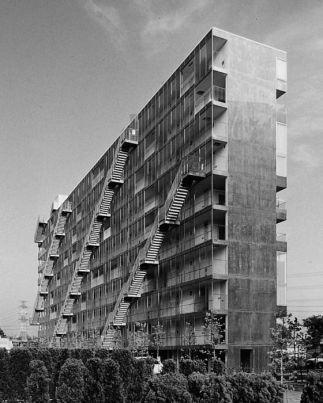 Hormigón visto en los bordes del edificio (6)