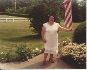 Mom on July 4th 1970.