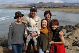 The family in Morro Bay