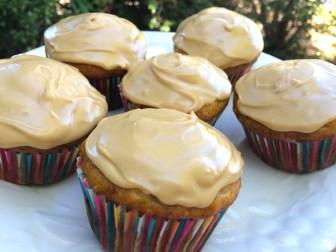 Pretty banana cupcakes