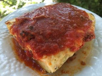 Zucchini with tomato sauce.JPG