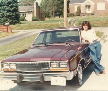 me and company car