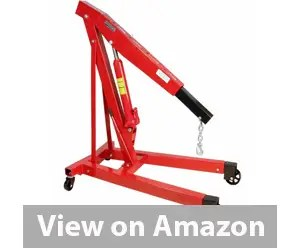 Dragway Tools 3 Ton 6000 LB Heavy Duty Engine Hoist Cherry Picker Review