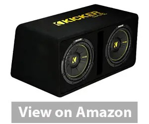 Best Car Subwoofer - Kicker 44DCWC122 Car Audio Subwoofer Amp Review