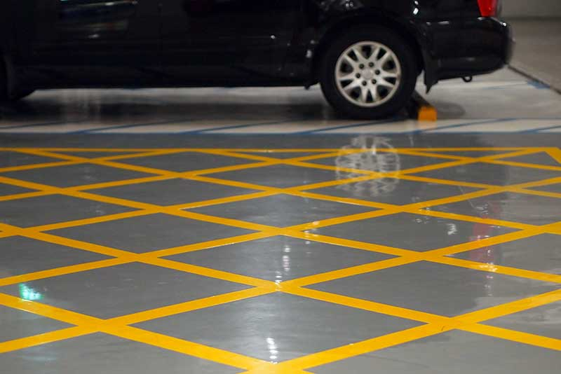 Best Garage Floor Epoxy September STUNNING Reviews - Garage floor tracks