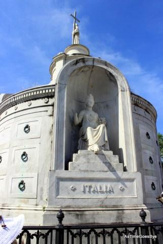 Italian burial chamber