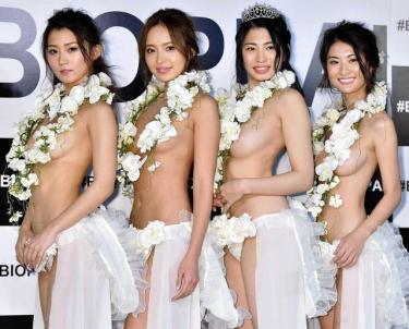 """美おっぱいの秘訣とは!? """"日本一美しいおっぱい""""準グランプリは人気モデル&ダンサー"""