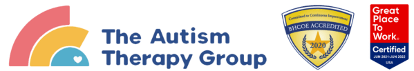 The Autism Therapy Group with BCHOE Accreditation and Great Place to Work™ Badge
