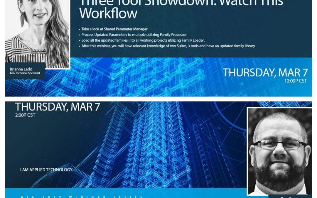 Two ATG Webinars This Week: Three Tool Showdown & Plumbing Visibility in the MEPPP