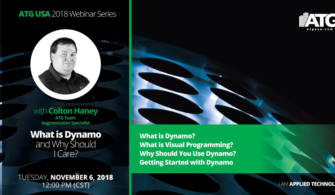 ATG Webinar: What is Dynamo and Why Should I Care?