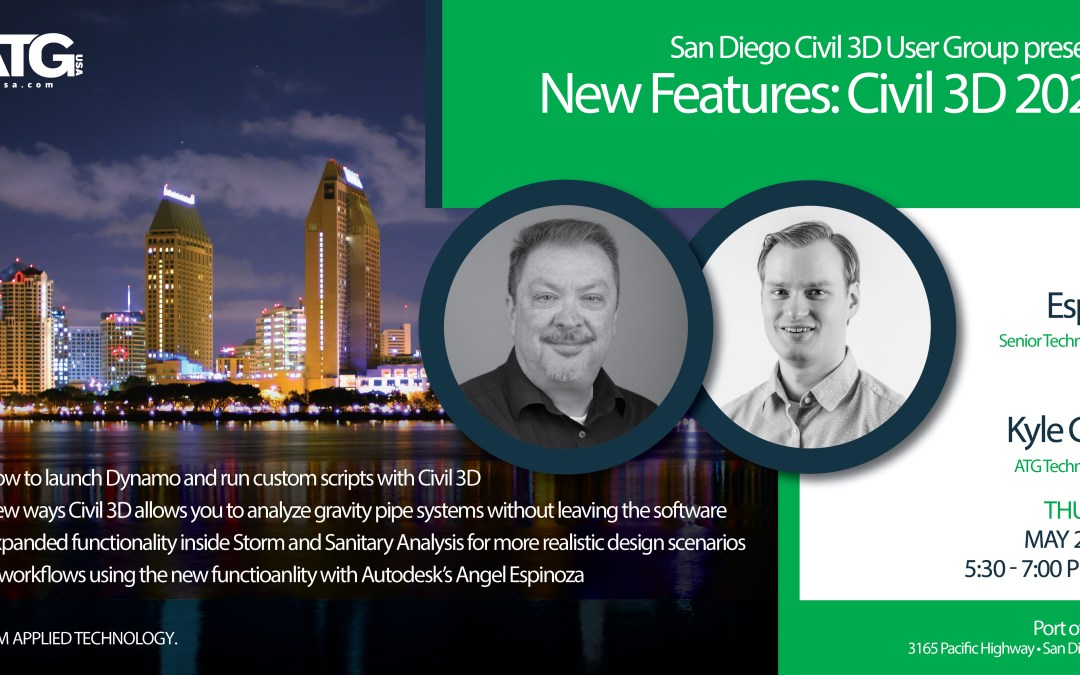ATG Presents: San Diego May Civil 3D User Group