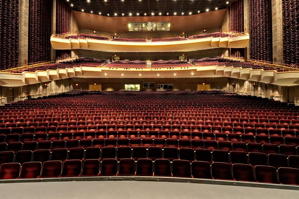ATG Laser Scans The Tulsa Performing Arts Center